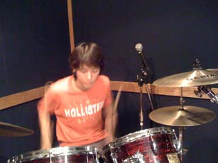 YongHwa on drums