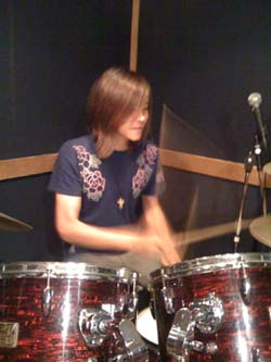 KwangJin on drums