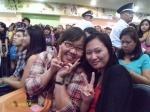 Me with @applerella from Thailand at Press Conference