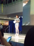 Ms. Kring Elenzano, one of the host